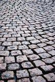 Bloque-piedras del cubo de la pavimentación del adoquín Fotos de archivo