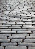 Bloque-piedras mojadas de la pavimentación del adoquín Imagen de archivo libre de regalías
