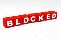 bloqueado ilustración del vector