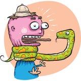 Bloqueador da serpente Imagens de Stock