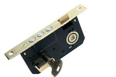 Bloquee con clave Foto de archivo