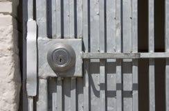 Bloqueo de la puerta Imagen de archivo libre de regalías