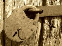 Bloqueo de la vendimia Imagen de archivo libre de regalías