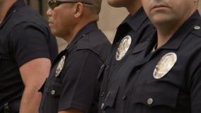 Bloqueo de LAPD, oficial Badges