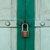 Bloqueo de puerta Fotografía de archivo libre de regalías