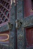 Bloqueo de puerta Imagenes de archivo