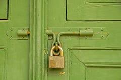 Bloqueo de puerta Fotografía de archivo