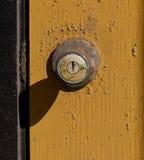 Bloqueo de puerta foto de archivo