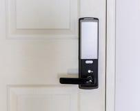 Bloqueo de puerta electrónico Fotografía de archivo libre de regalías