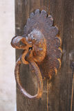 Bloqueo de puerta viejo Imagen de archivo libre de regalías