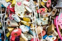 Bloqueo del amor fotos de archivo libres de regalías