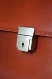 Bloqueo del clave de la cartera del asunto Fotografía de archivo