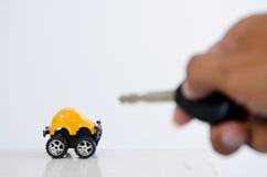 Bloqueo del coche Foto de archivo libre de regalías
