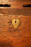 Bloqueo del corazón Imagenes de archivo