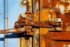 Bloqueo oxidado Fotografía de archivo libre de regalías