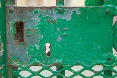 bloqueo oxidado Fotos de archivo