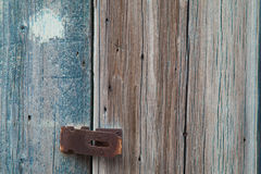 bloqueo oxidado Imágenes de archivo libres de regalías