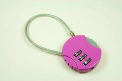 Bloqueo rosado imágenes de archivo libres de regalías