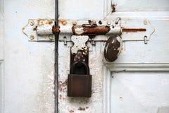 Bloqueo y cierre Imagen de archivo libre de regalías