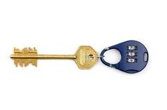 Bloqueo y clave Fotos de archivo