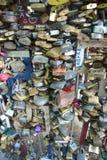 Bloqueos del amor Fotos de archivo libres de regalías
