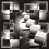 bloques 3D Imagen de archivo libre de regalías
