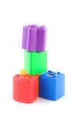 Bloques coloreados fotografía de archivo