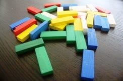 Bloques coloridos Imágenes de archivo libres de regalías