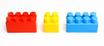 Bloques coloridos constructivos Foto de archivo libre de regalías