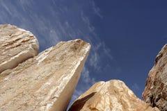 Bloques crudos del mármol Fotos de archivo