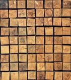 Bloques cuadrados de madera Imagen de archivo libre de regalías