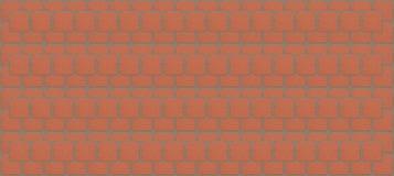 Bloques cuadrados realistas del modelo de la pared de ladrillo de la textura del fondo con fila sin fin del cemento Fotos de archivo libres de regalías