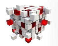 bloques 3D Fotografía de archivo