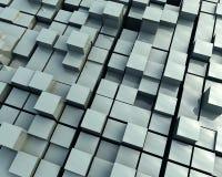 bloques 3D Imagen de archivo