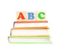 Bloques de ABC Imagenes de archivo