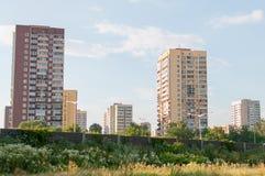 Bloques de apartamentos Imagen de archivo libre de regalías
