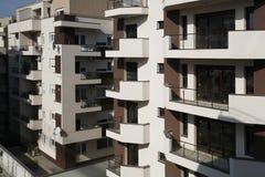 Bloques de apartamentos Foto de archivo libre de regalías