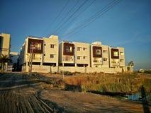 Bloques de apartamentos Fotografía de archivo libre de regalías