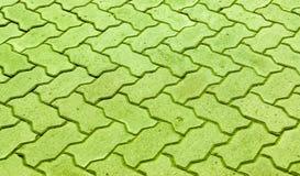 Bloques de bloques de piedra grises para pavimentar las aceras Imagen de archivo libre de regalías
