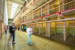 Bloques de célula de Alcatraz Fotografía de archivo libre de regalías