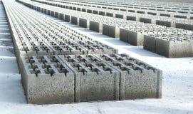 Bloques de cemento Imágenes de archivo libres de regalías