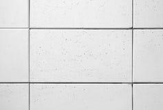 Bloques de cemento blancos Foto de archivo libre de regalías