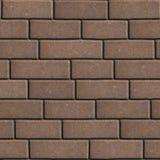 Bloques de cemento Brown en los rectángulos de la forma de Imagen de archivo