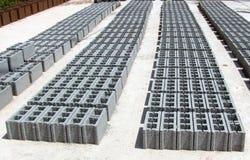 Bloques de cemento - gris Imagen de archivo libre de regalías
