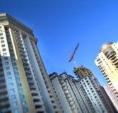 Bloques de ciudad de crecimiento Foto de archivo