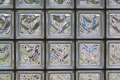 Bloques de cristal fotografía de archivo libre de regalías