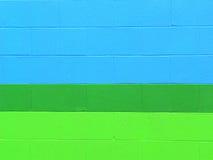 Bloques de escoria pintados Foto de archivo libre de regalías