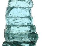 Bloques de hielo Fotos de archivo