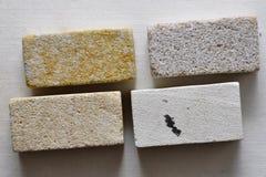 Bloques de la piedra arenisca Imágenes de archivo libres de regalías