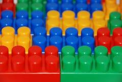 Bloques de Lego fotografía de archivo
